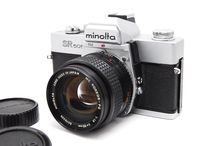 Minolta SR 505 35mm SLR w/ MC ROKKOR-PG 50mm f/1.4 Lens