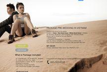 Pre wedding  dalat mui ne red sand dunes white sand dunes in Vietnam