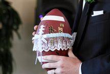 Sports theme wedding!