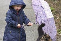 katt og barn