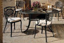 Terraza y Jardín. Barbacoa / Mobiliario exterior idóneo para zonas de barbacoa y comedores de jardín.