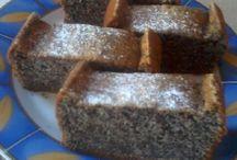 Habkönnyű mákos süti