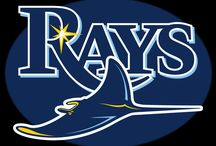 TAMPA BAY RAYS / TAKE ME OUT TO THE BALLGAME. GO RAYS / by Ashleigh Moore