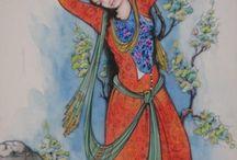 Pintura persa