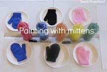 Mittens Theme in Preschool