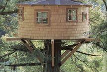 Yurt ağaç ev