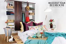 Vibrant Bedrooms