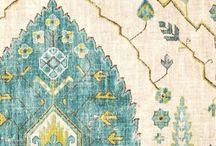 Beautiful Ikats / ikat fabrics and design
