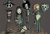 Tim Burton's art
