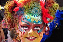 carnival maquillaje