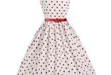 Vintage retro dress
