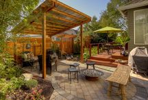 we build a patio / backyard