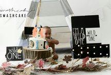 Mason's 'Wild One' birthday photo shoot