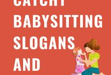 Catchy Babysitting Slogans and Taglines