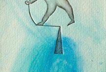 Disegni / Illustrazioni segni grafici poesia senza parole stupore meraviglia