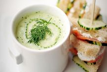 Chilled Summer Soups / Cold soups that are perfect for summer entertaining. / by The Culinary Exchange