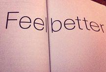 Feel Better / Feel Better Challenge #anngarvin.net