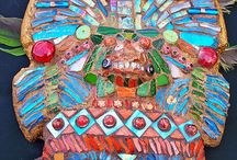 mascaras aztecas