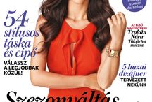 Cover September 2013 InStyle HU / Cover InStyle Hungary September 2013 