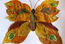Arts visuels : feuilles