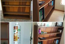 room DIY: the book case