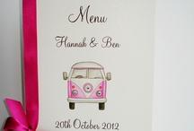 Wedding Menu's / by Beadazzle Designs