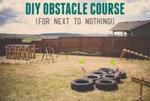 Obstacle course for kids!