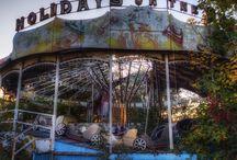abandoned fairgrounds