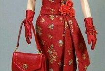 Barbie rood