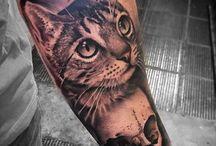 tatoo cu pisici