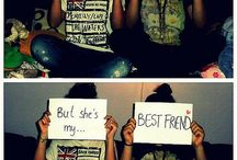 Besties / I really Want to do this with me bestfriend.