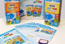 Kampania Nestlé JUNIOR / Wystartowała kampania mleka modyfikowanego Nestlé JUNIOR. Rozpocznij z nami przygodę ze smakiem!