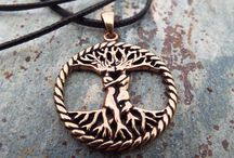 Copper and Bronze / Browse our latest handmade copper and bronze pendants!