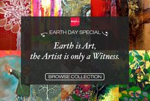 EarthDay Special / Earth is Art, the Artist is only a Witness. This Earth Day, allow yourself to be inspired by artsy creations by some of Artflute's incredibly talented artists.