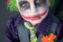 Maquillage halloween enfant