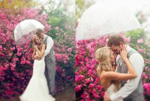 Rainy wedding day inspiration board