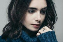 ⤷ Lily Collins