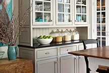 Kitchen ideas / by Sandy Carlson Full Moon & Buck Naked