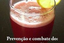 suco para prevenção  de várias doenças