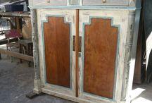 muebles en madera recuperada