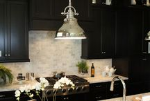 The Dark Side / Cabinets - It's been an unexpectedly heated topic lately. Light cabinets or dark?