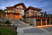 Dream Homes / One can dream can't they? Some of these are just wow!!! Some people have way too much money / by Stephanie Lackey