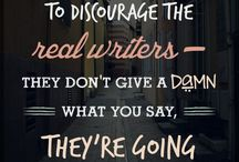 Stuff for Writers / Are you a writer? Do you like writers? Here you go, y'all!