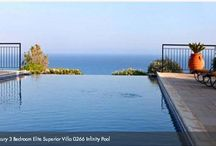 To Infinity and Beyond! / Just Resorts selection of villas and hotels with stunning infinity pools