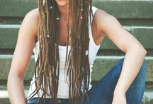 Thin dreadlocks