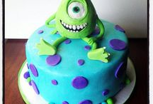 Xaviers first birthday / Monsters!