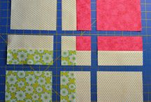 4 patch quilts tutorial