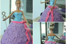 Dolly Varden Cake Designs / This shape cake is made by using our Dolly Varden cake tin.