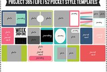 storyteller pocket page templates / by Jessica Macleod
