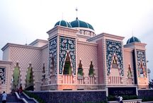 Beautiful Mosque in Indonesia